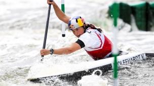 2018 ICF Canoe Slalom World Cup 2 Krakow Viktoria WOLFFHARDT AUT