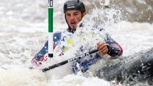 2018 ICF Canoe Slalom World Cup 1 Liptovsky Slovakia WESTLEY Ryan GBR