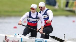 2021 ICF Canoe Sprint World Cup Szeged Irina ANDREEVA, Ivan SHTYL