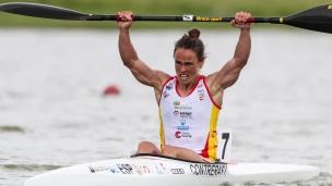 2021 Canoe Sprint European Olympic Qualifier Isabel CONTRERAS