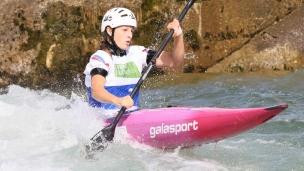 2021 ICF Canoe Slalom Junior & U23 World Championships Ljubjlana Ivana Chlebova