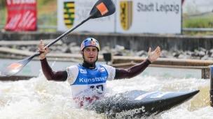 2021 ICF Canoe Slalom World Cup Markkleeberg Jakub GRIGAR