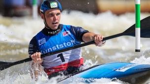 2021 ICF Canoe Slalom World Cup Markkleeberg Joseph CLARKE
