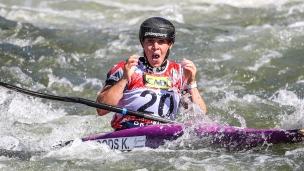 2019 ICF Canoe Slalom World Championships La Seu d'Urgell Spain Kimberley WOODS