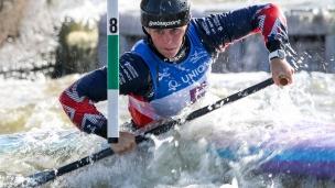 2019 ICF Canoe Slalom World Cup 5 Prague Kimberley Woods