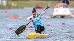 2020 ICF Canoe Sprint World Cup Szeged Hungary Liudmyla LUZAN