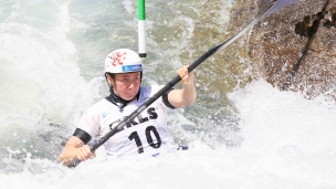 2021 ICF Canoe Slalom Junior & U23 World Championships Ljubjlana Lucie Nesnidalova