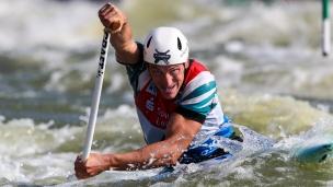2019 ICF Canoe Slalom World Cup 4 Markkleeberg Luka BOZIC