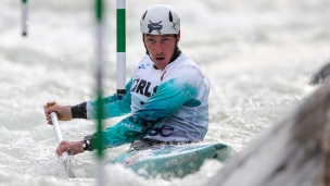 2020 ICF Canoe Slalom World Cup Ljubljana Slovenia Luka BOZIC