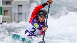 2019 ICF Canoe Slalom World Cup 1 London Mallory Franklin Great Britain