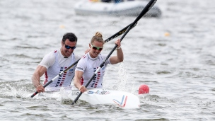 2019 ICF Sprint World Cup 1 Poznan Poland Manon HOSTENS-Maxime BEAUMONT France