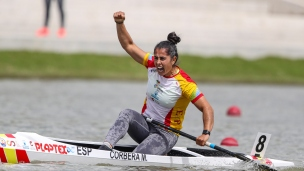 2021 Canoe Sprint European Olympic Qualifier Maria CORBERA