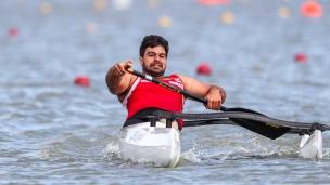 2020 ICF Canoe Sprint World Cup Szeged Hungary Markus Mendy SWOBODA