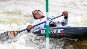 2019 ICF Canoe Slalom World Cup 5 Prague Matej BENUS