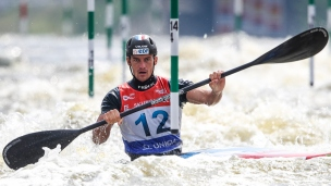 2021 ICF Canoe Slalom World Cup Prague Mathieu BIAZIZZO