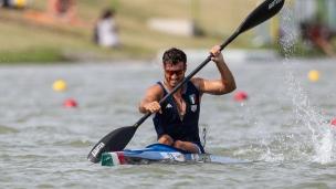 2019 ICF Canoe Sprint World Championships Szeged Hungary Matteo TORNEO