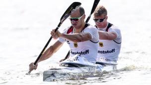 2019 ICF Sprint World Cup 1 Poznan Poland Max HOFF-Jacob SCHOPF Germany