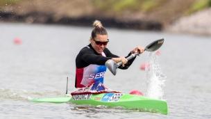2021 ICF Canoe Sprint World Cup Szeged Milica NOVAKOVIC