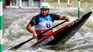 2019 ICF Canoe Slalom World Cup 5 Prague Nadine WERATSCHNIG