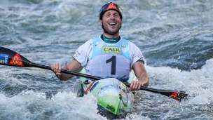 2019 ICF Wildwater Canoeing World Championships La Seu dUrgell Spain Nejc ZNIDARCIC