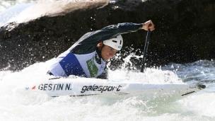 2021 ICF Canoe Slalom Junior & U23 World Championships Ljubjlana Nicolas Gestin