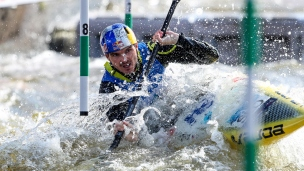 2019 ICF Canoe Slalom World Cup 5 Prague Peter Kauzer