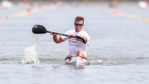 2021 Canoe Sprint European Olympic Qualifier Rene Holten POULSEN