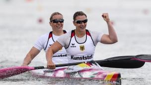 2021 ICF Canoe Sprint World Cup Szeged Sabrina HERING-PRADLER, Tina DIETZE