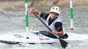 2021 ICF Canoe Slalom Junior & U23 World Championships Ljubjlana Sara Belingar