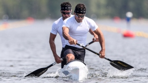 2021 ICF Canoe Sprint World Cup Barnaul Serguey TORRES, Fernando Dayan JORGE