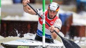 2021 ICF Canoe Slalom World Cup Markkleeberg Sideris TASIADIS