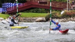 2019 ICF Canoe Slalom World Championships La Seu d'Urgell Spain Slovakia C1 Men's Team