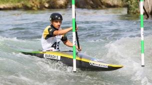 2021 ICF Canoe Slalom Junior & U23 World Championships Ljubjlana Solomon Maragh