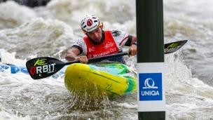 2019 ICF Canoe Slalom World Cup 5 Prague Stefan Hengst