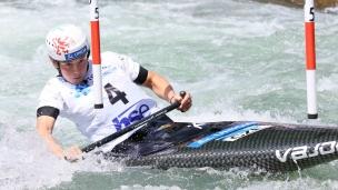 2021 ICF Canoe Slalom Junior & U23 World Championships Ljubjlana Tereza Kneblova