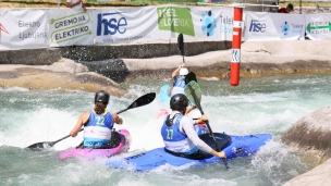 2021 ICF Canoe Slalom Junior & U23 World Championships Ljubjlana Tit Senk