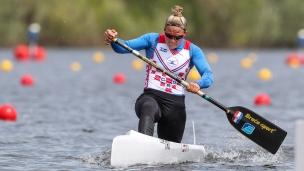 2021 ICF Canoe Sprint Olympic Qualifier Barnaul Vanesa TOT