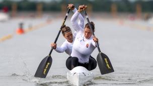2021 ICF Canoe Sprint World Cup Szeged Virag BALLA, Kincso TAKACS