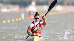 2019 ICF Canoe Sprint World Championships Szeged Hungary Volha KHUDZENKA
