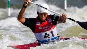 2019 ICF Canoe Slalom World Cup 4 Markkleeberg Weijian ZOU