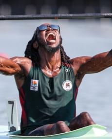 Bram SANDERSON Dominica ICF Canoe Kayak Sprint