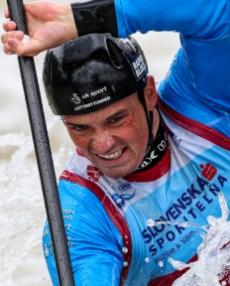 2018 ICF Canoe Slalom World Cup 1 Liptovsky Slovakia FORBES-CRYANS Bradley GBR