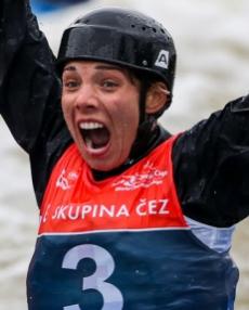 2019 ICF Canoe Slalom World Cup 5 Prague Veronika Vojtova