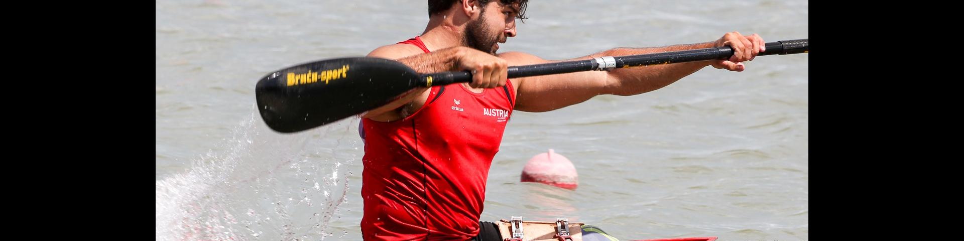 Austria Markus Swoboda Paracanoe