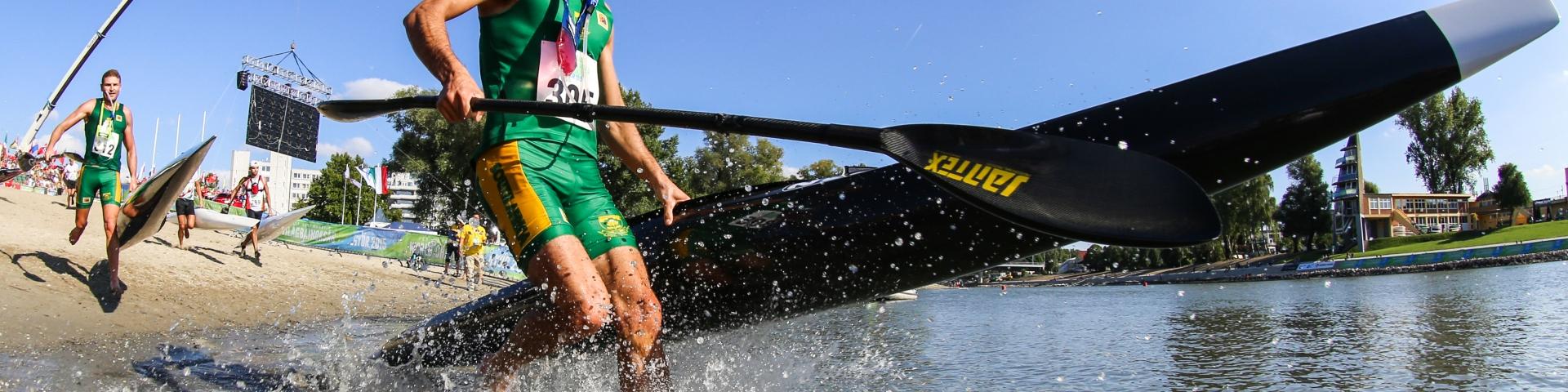 Hank McGregor (RSA), Canoe Marathon