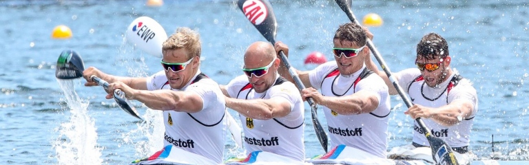 Germany K4 men Duisburg 2019