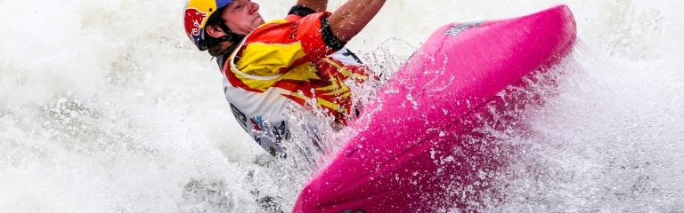 USA Dane Jackson freestyle kayak world championships