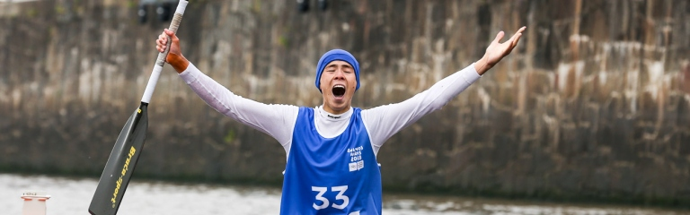 Kazakhstan Dias Bakhraddin Youth Olympics 2018