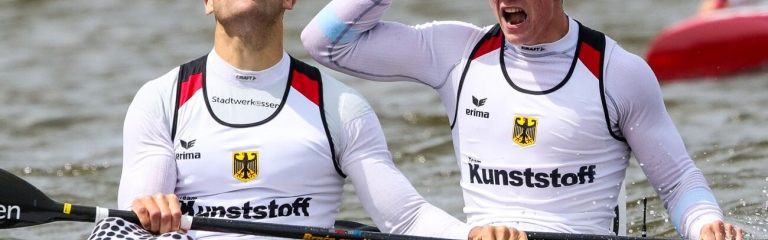 Germany Max Hoff Jacob Schopf K2 1000 Poznan 2019