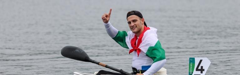 Hungary Peter Kiss Tokyo Paralympics